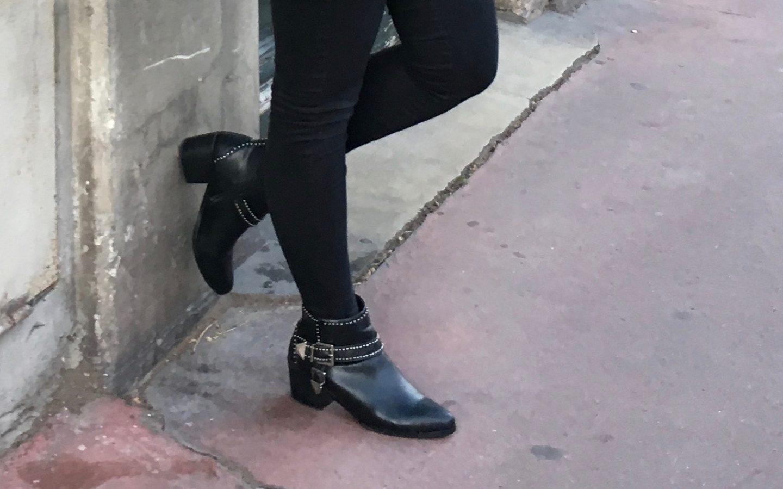 Les bottines du look de février